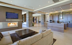 open plan home